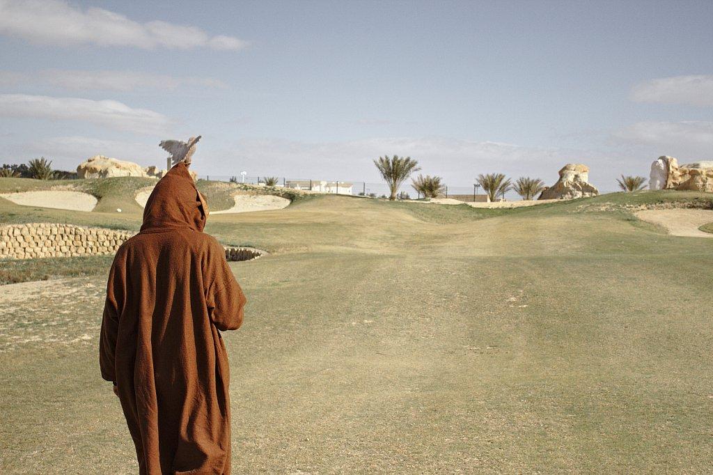 Golf in the Desert.